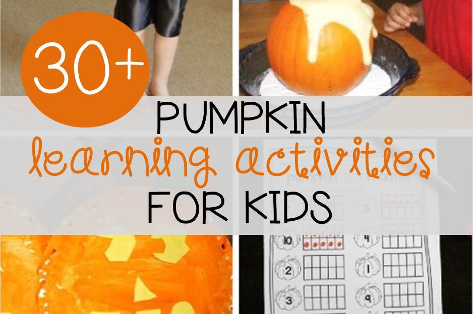 30 Pumpkin Activities For Kids The Kindergarten Connection