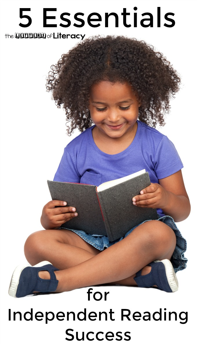 These five independent reading tips are essentials for creating successful readers.