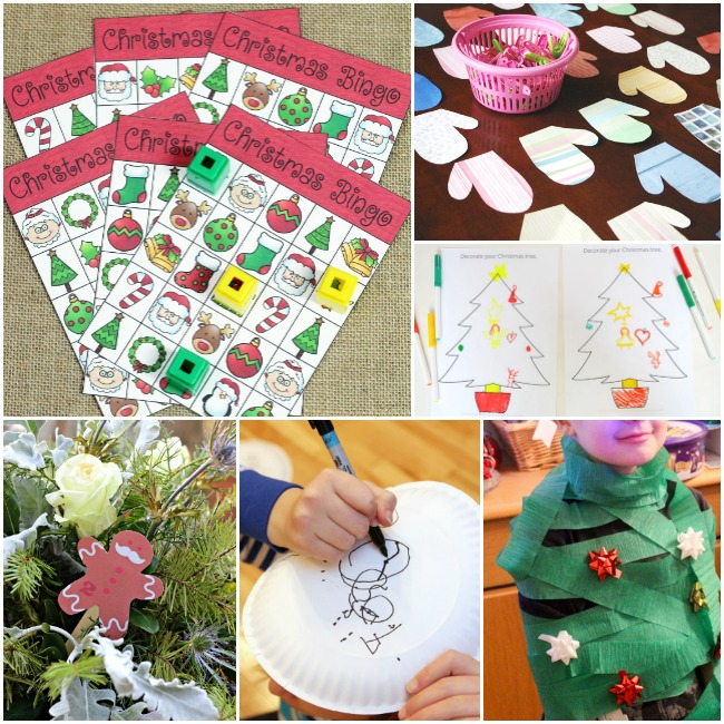 Christmas Classroom Games and Activities