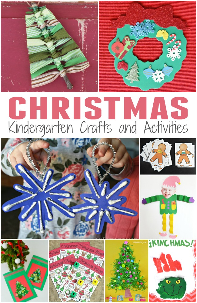 graphic regarding Printable Christmas Crafts known as 50+ Youngsters Xmas Crafts and Actions - The Kindergarten