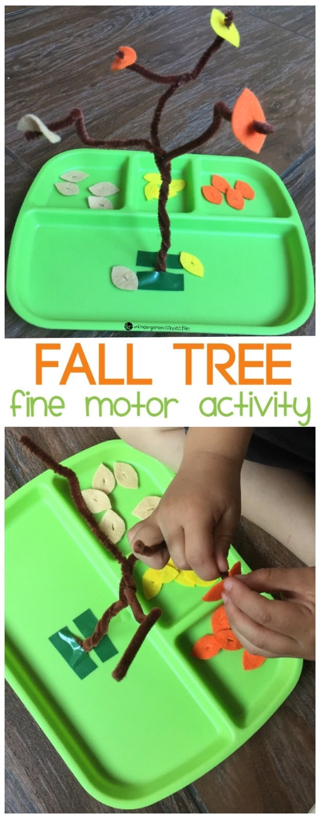Fall Tree Fine Motor Activity - The Kindergarten Connection