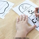tracing-letters-ghosts, A-Z, Free printable