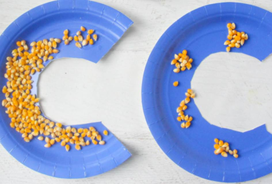 Letter C Craft – C is for Corn