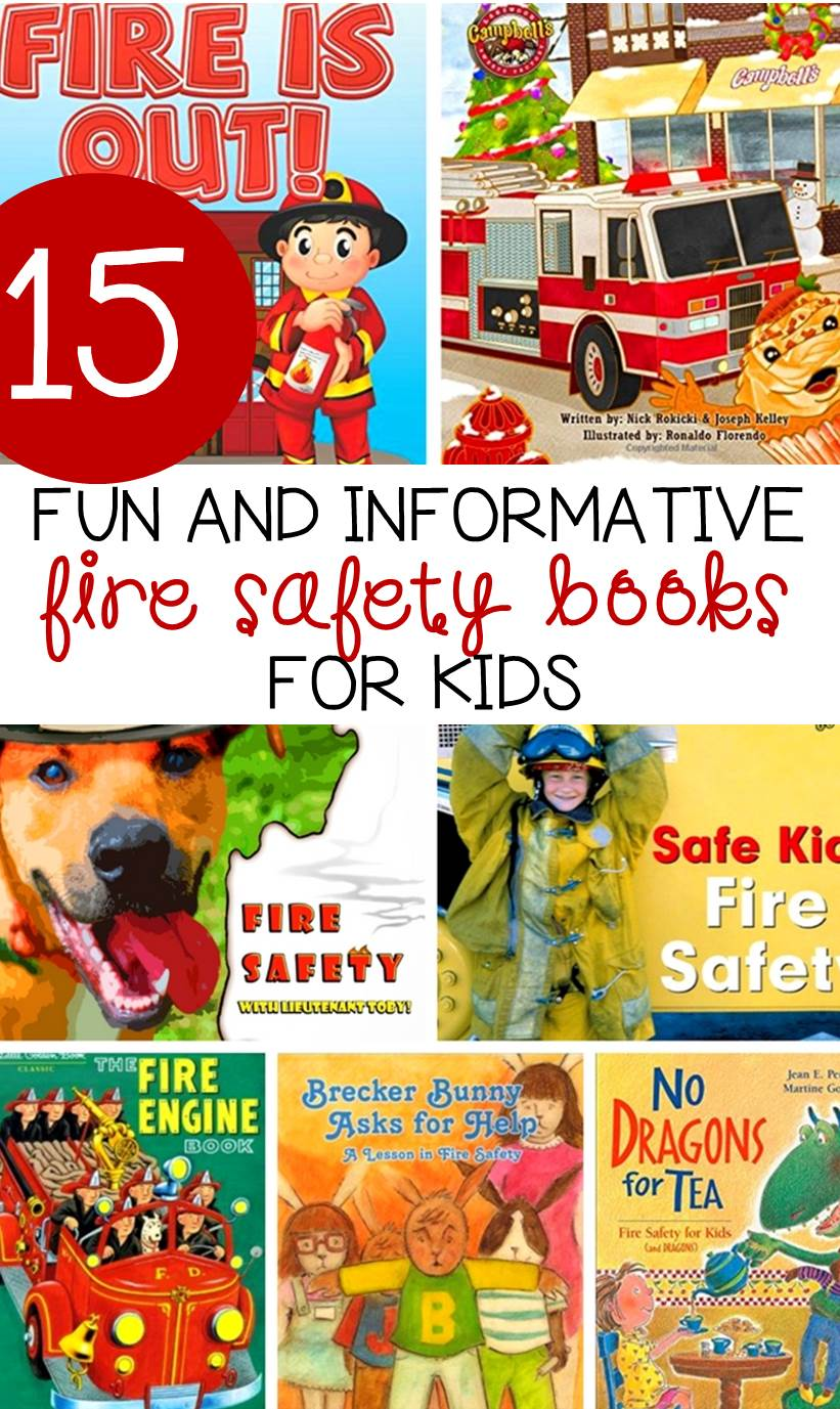 Teach your children about fire safety and what to do to keep safe with these fun and informative fire safety books for kids.