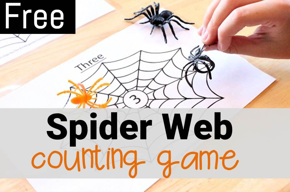 spider-web-counting-game