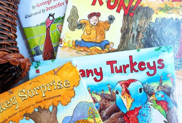 15 Turkey Books for Thanksgiving