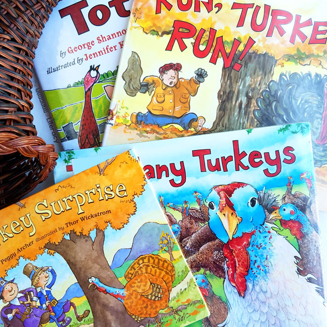 These fun turkey books make great read alouds at home or in the classroom, and are great to add to your collection of Thanksgiving books for kids!