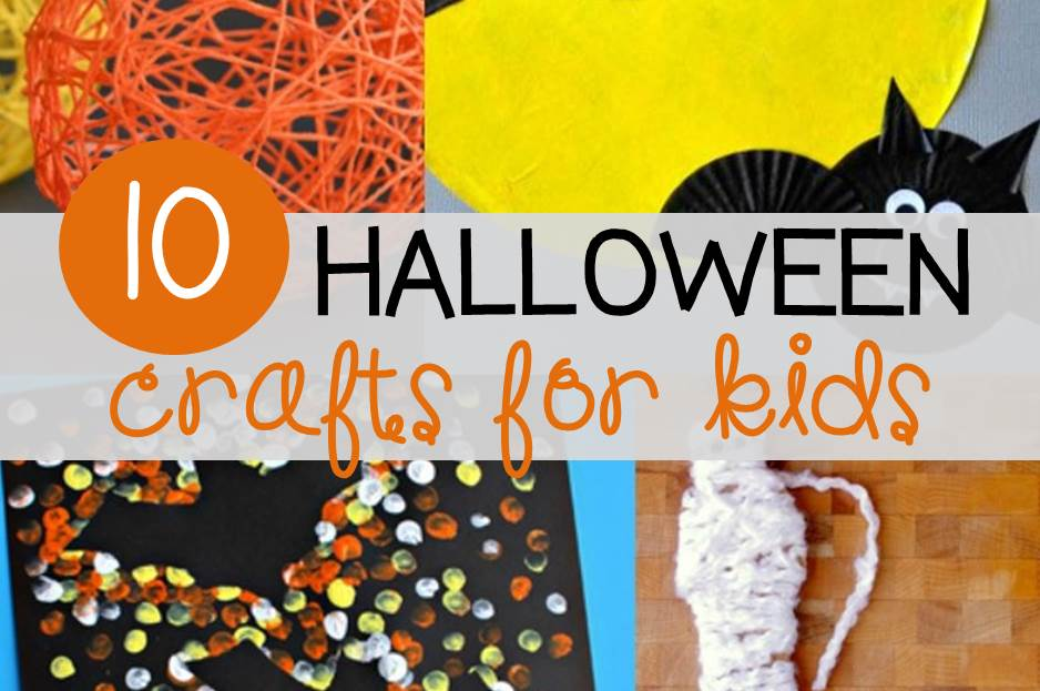 Awesome Halloween crafts for kids!