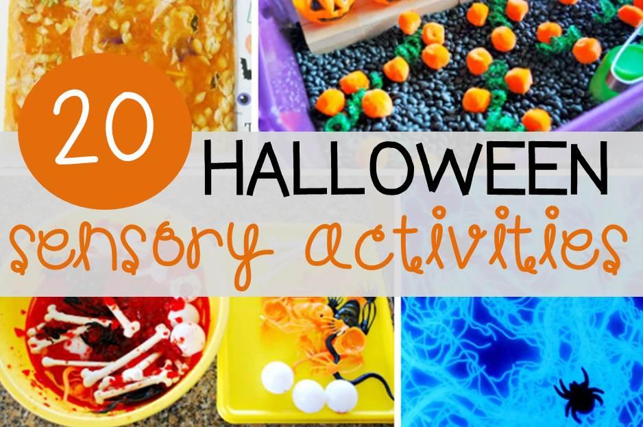 Fun Halloween sensory activities for kids!