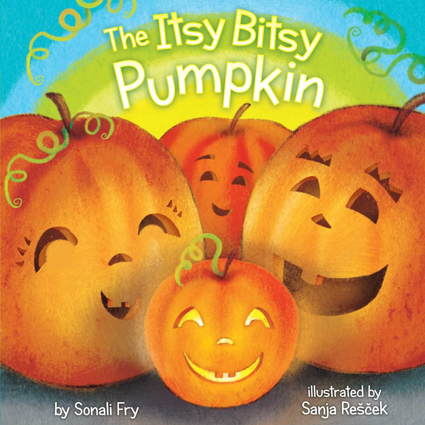 Enjoy a fun twist on a classic song in The Itsy Bitsy Pumpkin.