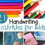 21 Fun Handwriting Activities for Kids