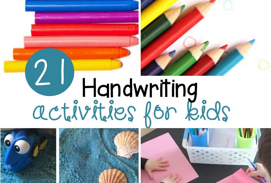 fun handwriting activities for 4th grade