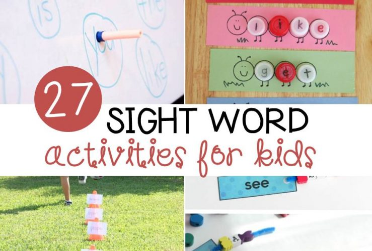 27 Awesome Sight Word Activities