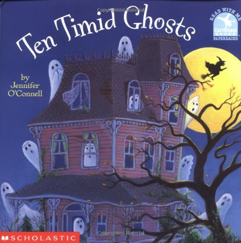 Practice counting to 10 with Ten Timid Ghosts.