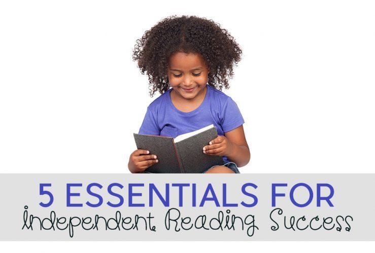 5 Essentials for Independent Reading Success