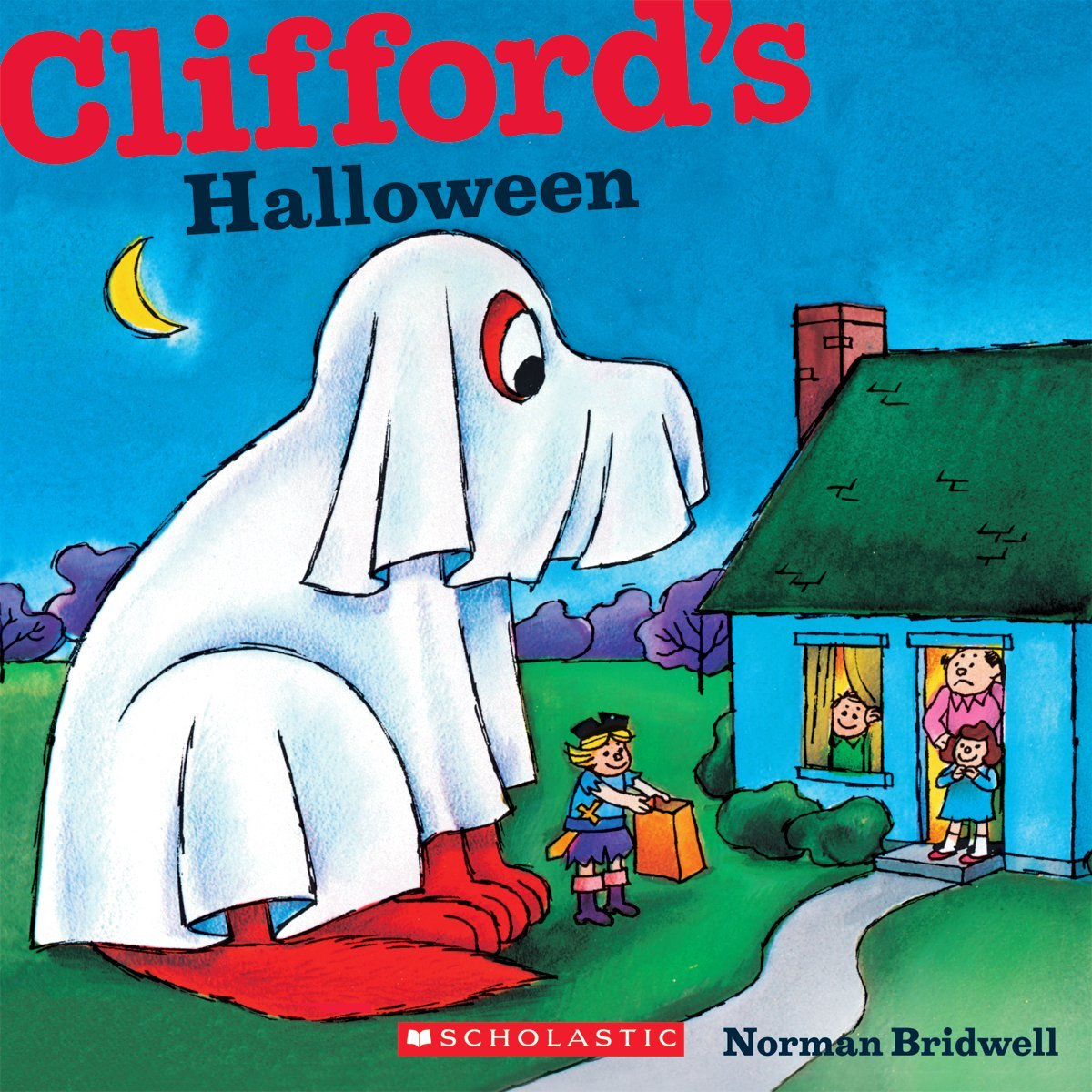 Have fun with Clifford the big red dog in Clifford's Halloween.