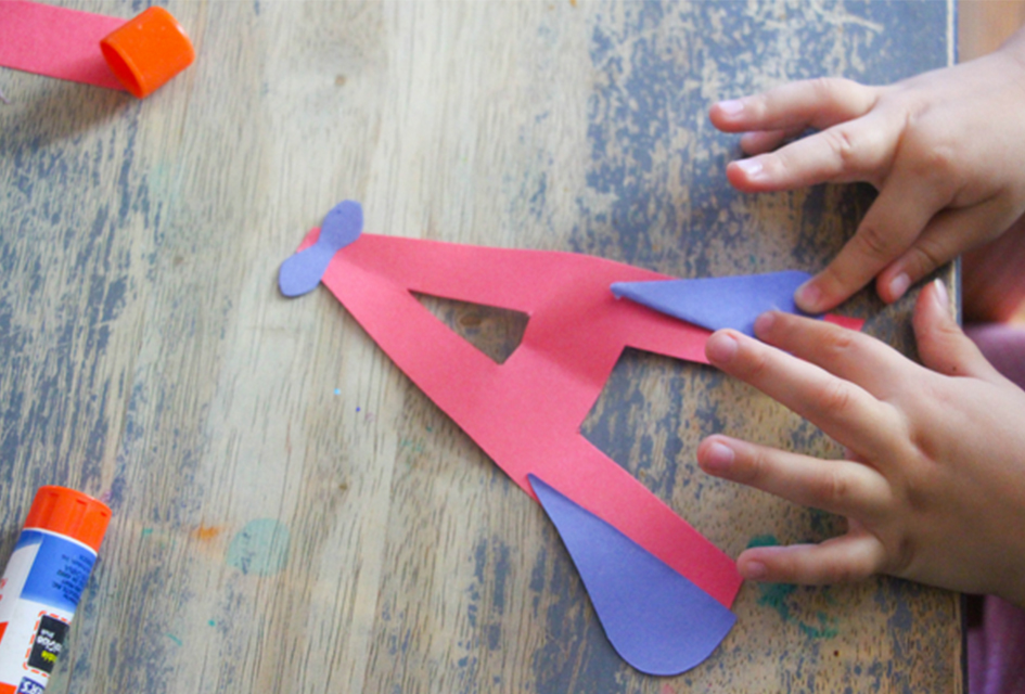Letter A Craft: A is for Airplane