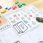 Letter Recognition Grab Bag with FREE Printables