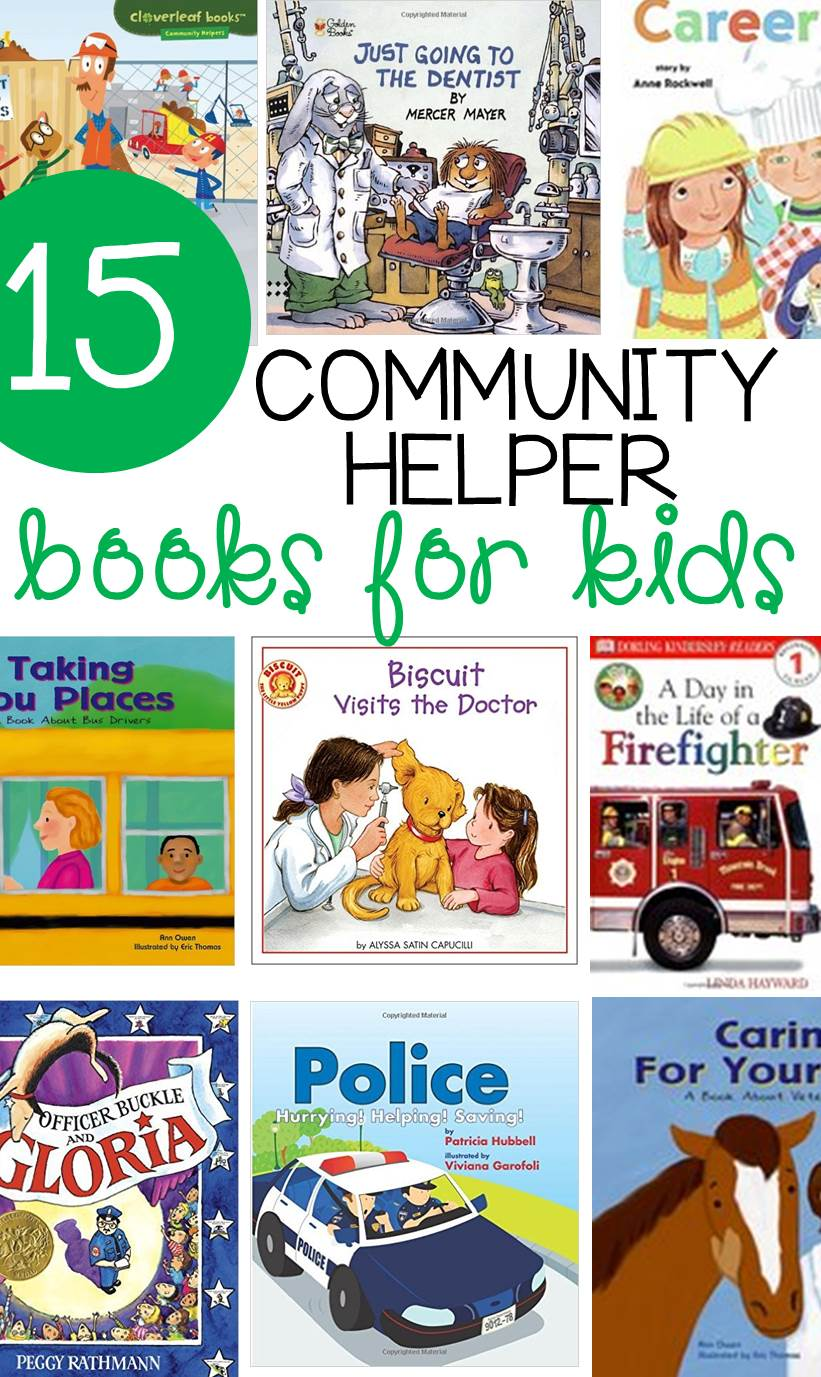Learning about community helpers is fun! Engage kids with these 15 awesome community helpers books. The are perfect read alouds for school or home!