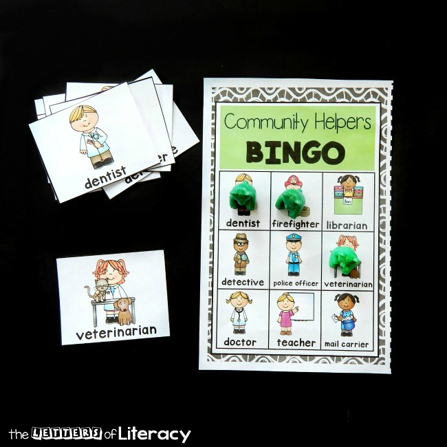 Learning about community helpers is always fun! Print this community helpers bingo game for kids to add to your activities and plans.