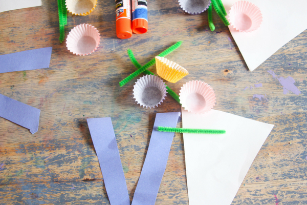 This Letter V Craft, V is for Vase, is a beautiful complement to a botany activity or as an educational craft around Mother's Day.