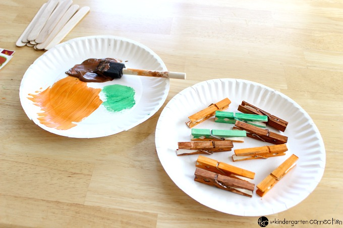 Practice hands-on counting for preschool and kindergarten. Try this easy, low cost DIY math counting activity, with little prep required.