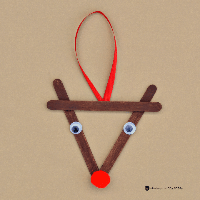 This Reindeer Christmas Ornament Was Inspired By Rudolph The Red Nosed Create A Family