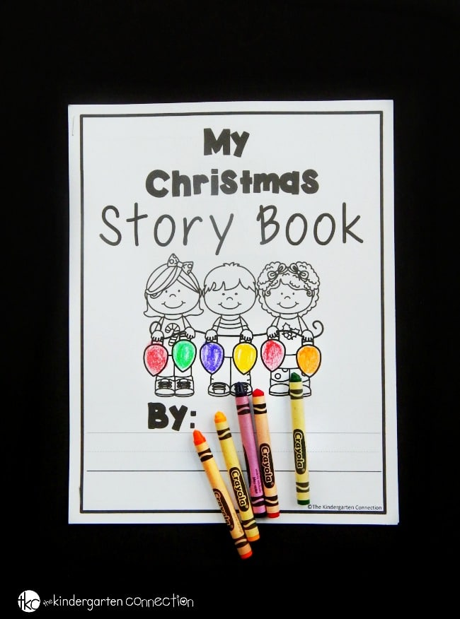 These Christmas writing centers are a hands on, engaging way to get kids reading, writing, labeling, and creating with Christmas vocabulary words.