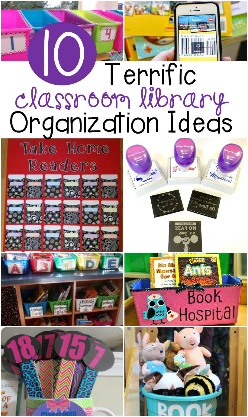 Classroom Organization Ideas Pictures ~ Terrific classroom library organization ideas the