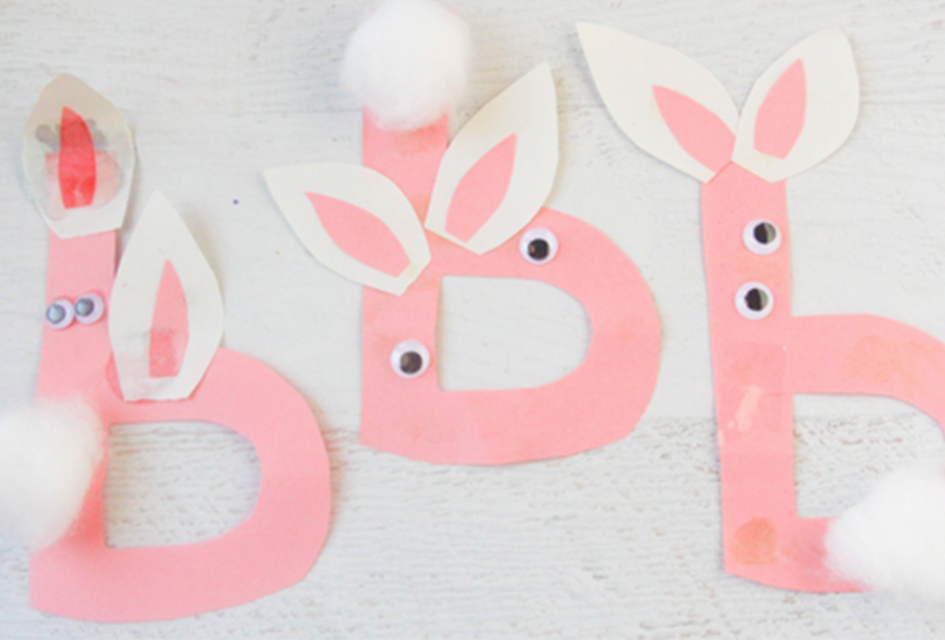 B is for Bunny Letter Craft