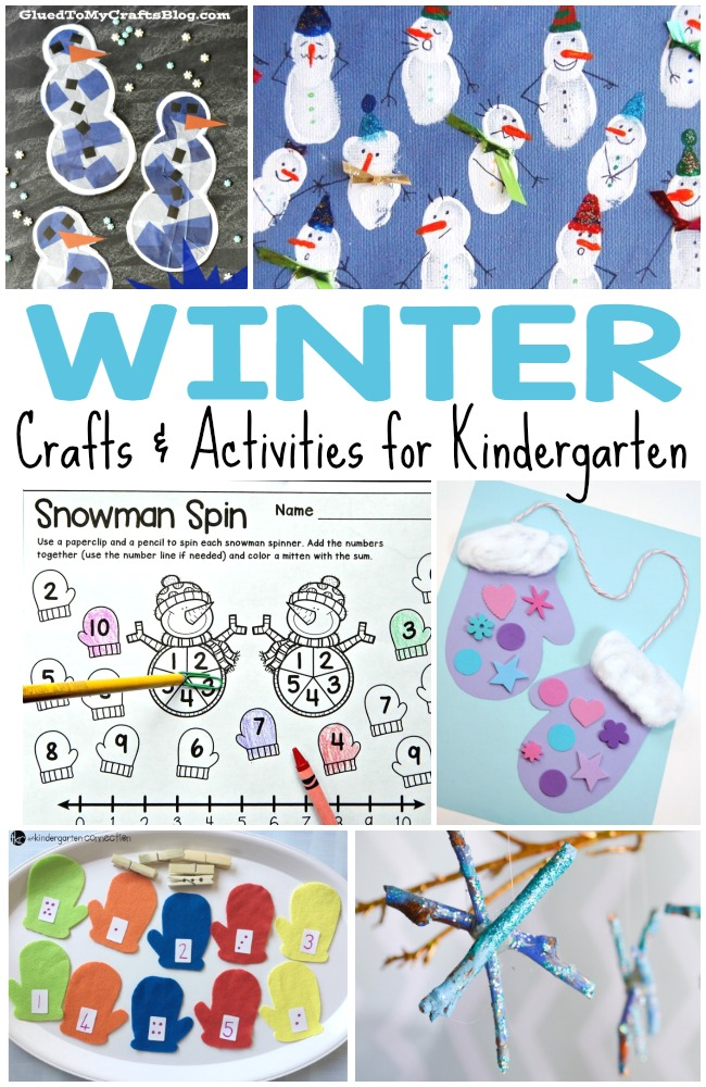50 Kids Winter Activities And Crafts For Kids