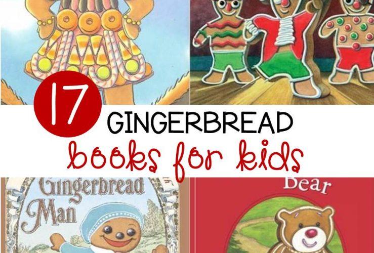 17 Fun Gingerbread Books for Kids