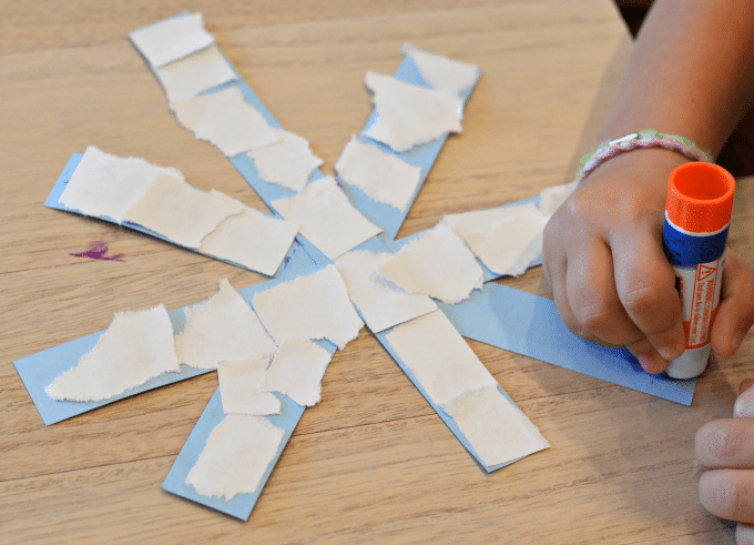 Snowflake Craft Ideas For Kids Part - 16: ... And Kindergartners This Paper Snowflake Craft Is An Easy Winter Craft  For Toddlers, Preschoolers, And Kindergartners