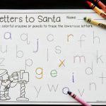 Letters to Santa Letter Tracing Printables