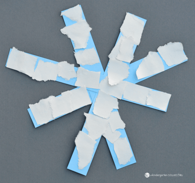 Super Easy Paper Snowflake Craft Winter Activities For Kids