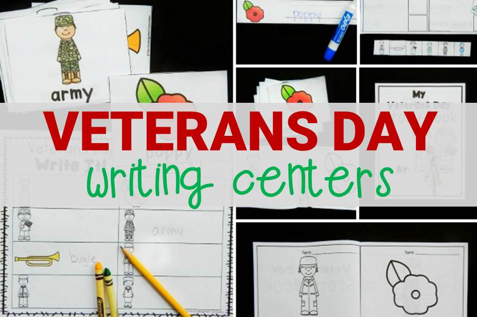 Veterans Day Writing Centers