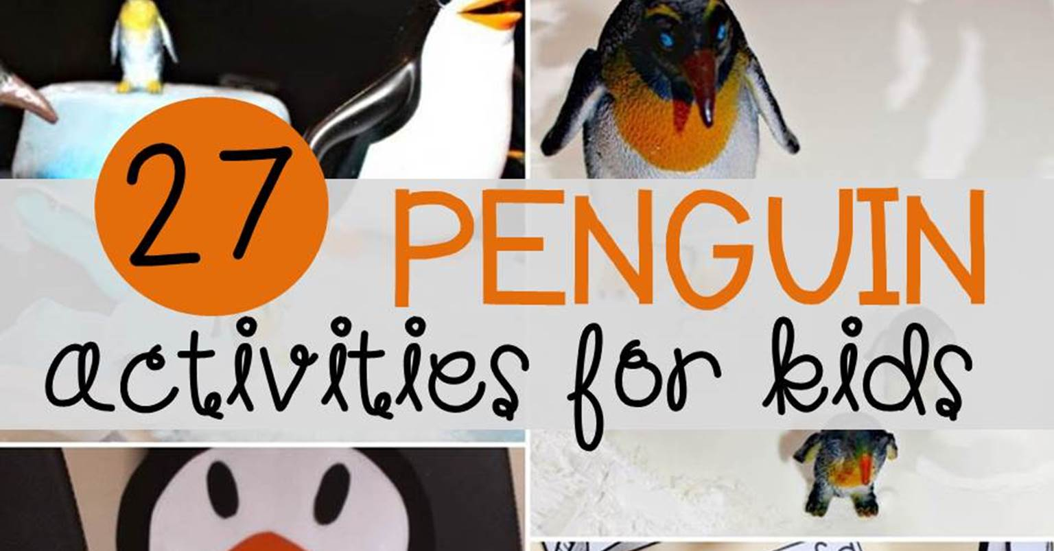 27 Super Cool Penguin Activities For Kids The Kindergarten Connection