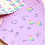 Easy Valentine Alphabet Heart Activity