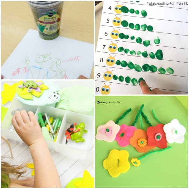 50 Spring Crafts And Activities For Kids