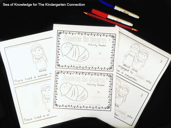 This free printable Christmas reader is a great way to share the Christmas story with kids and learn about the birth of Jesus!