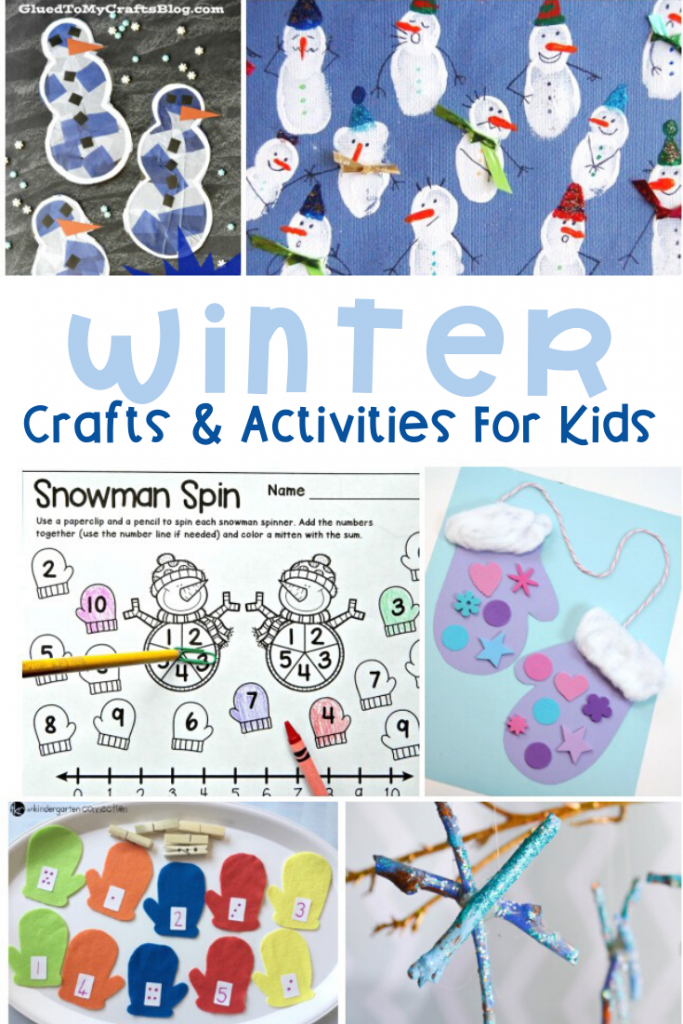 Winter Activities For Your Kindergarten Classroom. You will find plenty learning printables for your little ones, fun games to play in the classroom, engaging crafts and more. #winteractivities #freeprintables #wintercrafts #kindergartenactivities