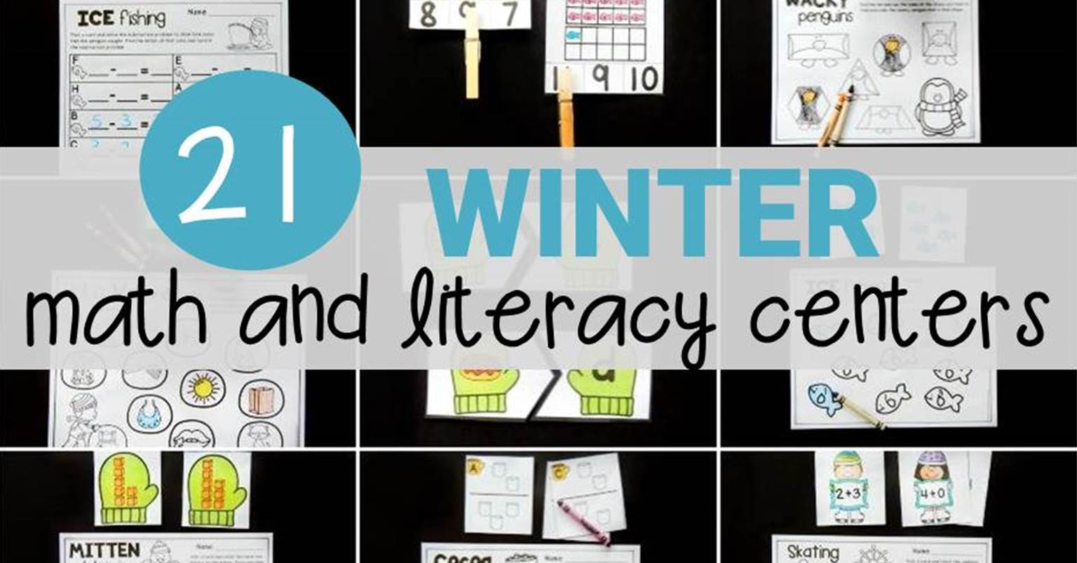 21 Totally Cool Winter Centers and Activities - The Kindergarten ...