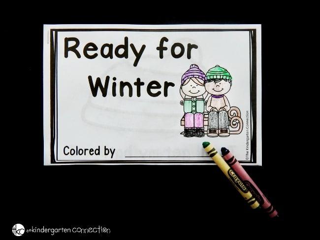 photo relating to Free Printable Decodable Books for Kindergarten named Winter season Emergent Website visitors - The Kindergarten Marriage