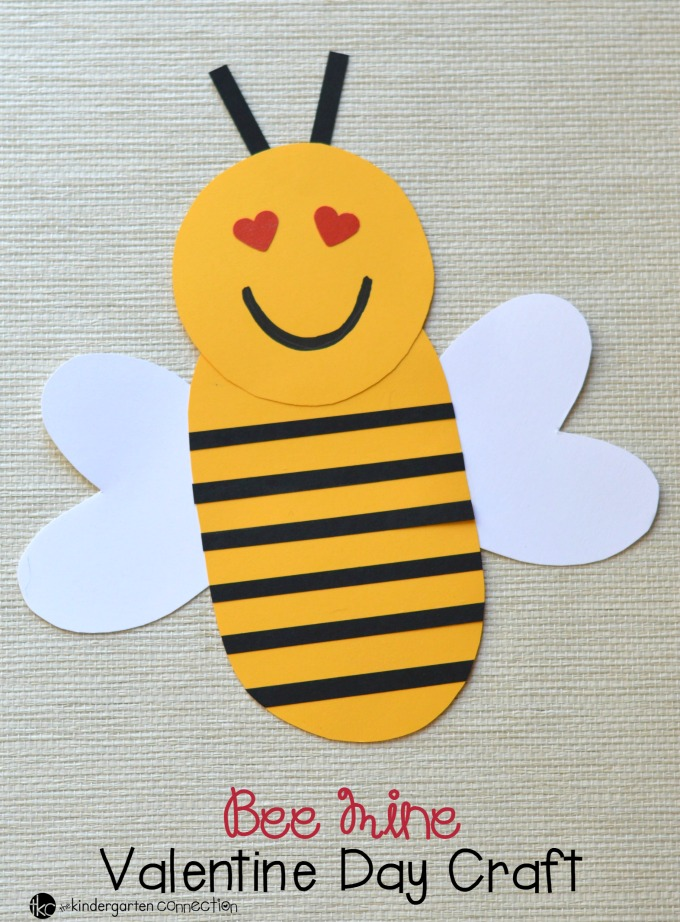 Bee Mine Preschool Craft