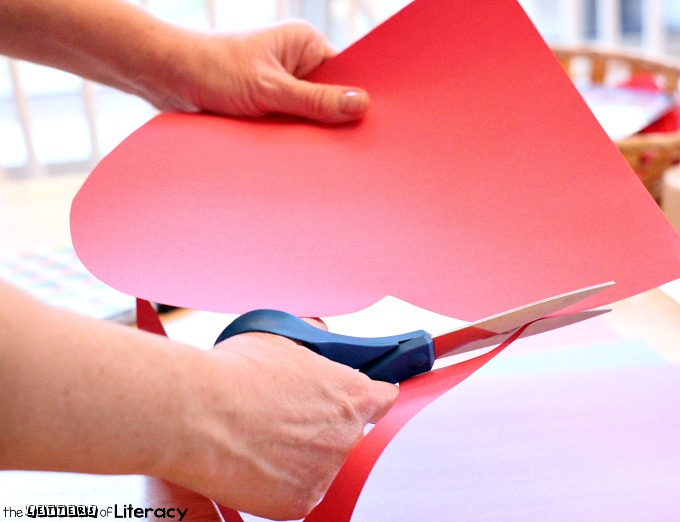 Put together this easy Valentine alphabet heart activity. You can create this simple ABC center with supplies you already have on hand.