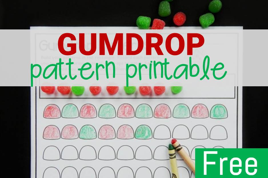 Gumdrop Pattern Printable