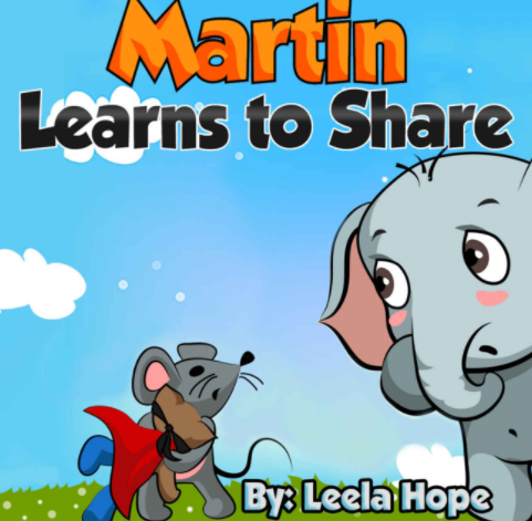 Martin Learns to Share helps children understand the importance of sharing.