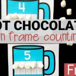 Hot Chocolate Ten Frame Cards