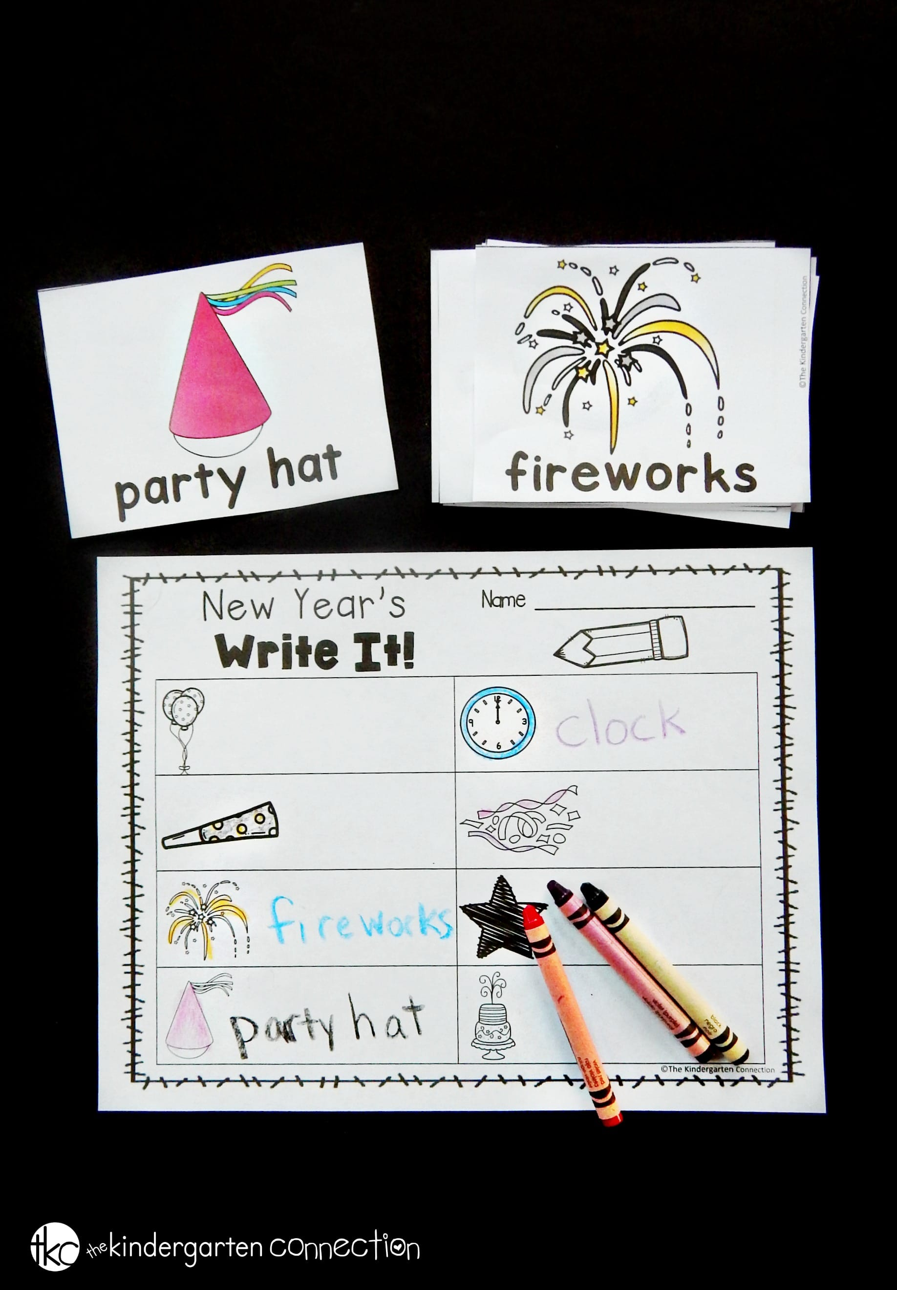These New Year's Writing Centers are great to have on hand after the holiday break and are such a fun New Year's activity for kids!