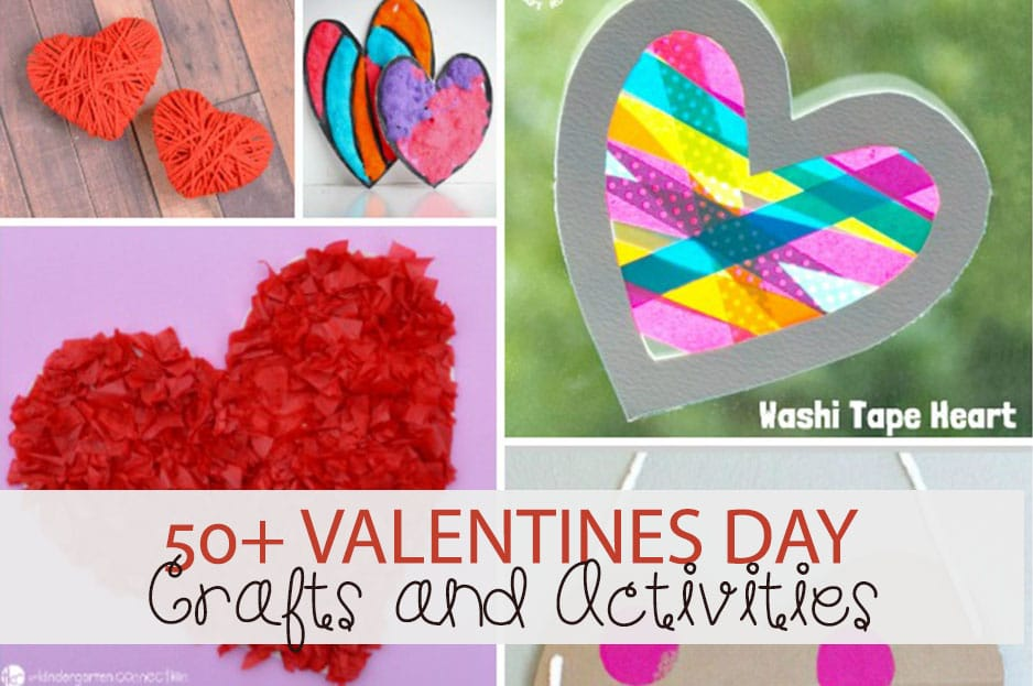 50 Valentines Day Crafts And Activities For Kids